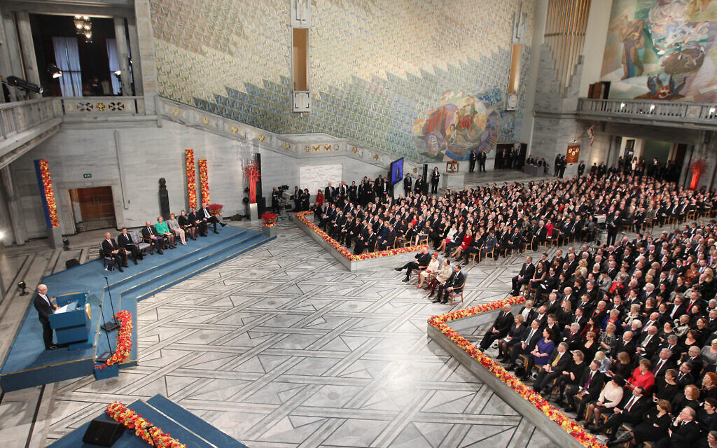 Nobel Peace Prize ceremony scaled back due to virus