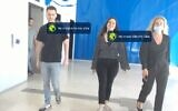 AnyVision technology uses behavioral economics to pressure the public to wear masks and wear them correctly (YouTube screenshot)
