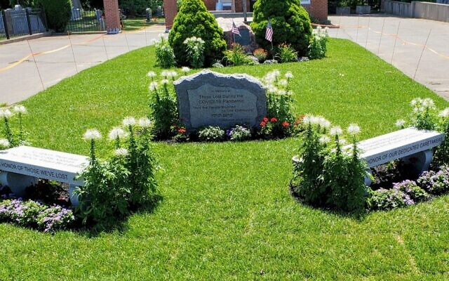 Boston's Jewish community has unveiled a memorial to COVID-19 victims even as the pandemic continues. (Courtesy Jewish Cemetery Association of Massachusetts via JTA)