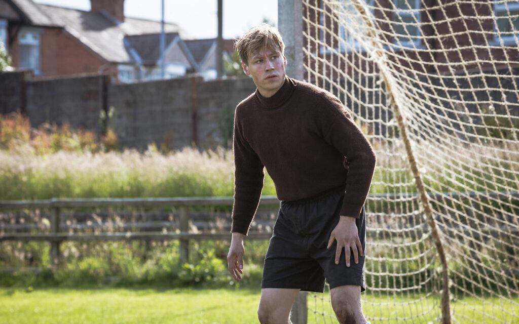 David Kross as Bert Trautmann in 'The Keeper' (Jürgen Olczyk/Menemsha Films)