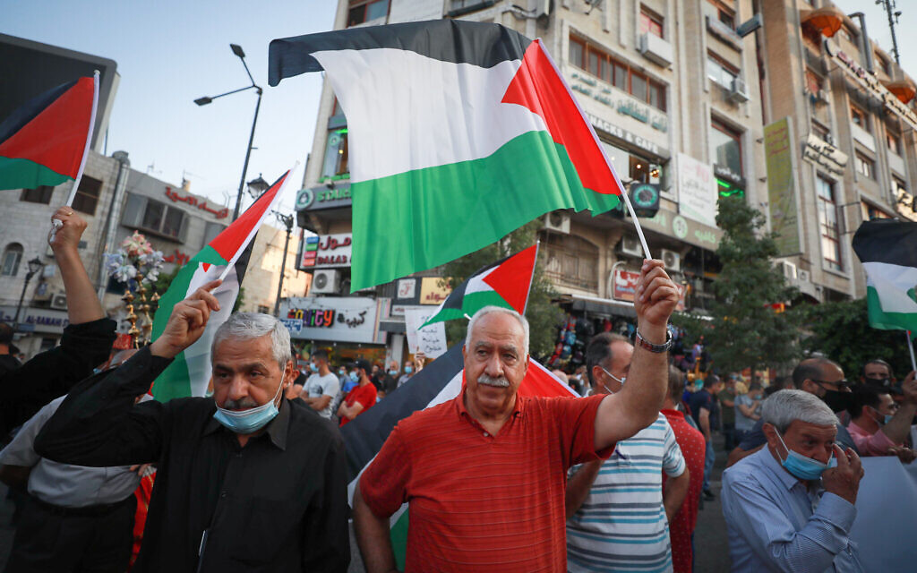 A peace paradox: Sidelined Palestinians may finally have their leverage