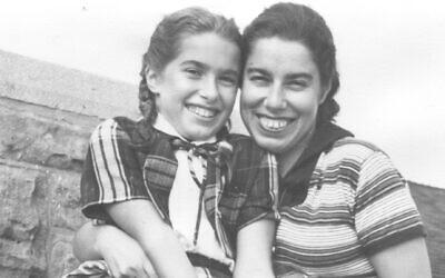Franci Rabinek Epstein and daughter Helen Epstein, New York, c. 1950s. (Courtesy of Helen Epstein)