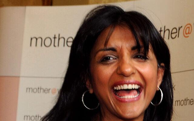 Geeta Sidhu-Robbat attends an awards ceremony in London, U.K. on June 17, 2008. (Fiona Hanson - PA Images via Getty Images via JTA)