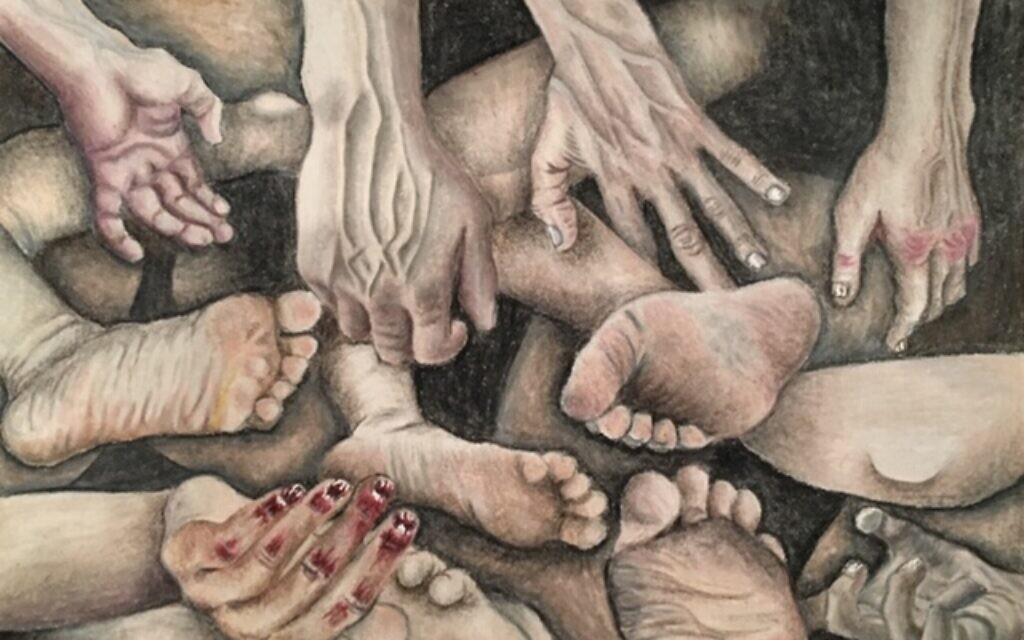 'Genocide' by Madeline Dittman, a submission to TOLI's online art exhibit (courtesy)