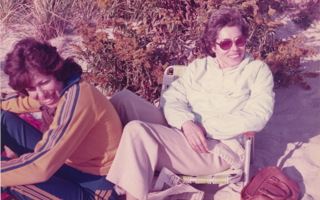 Helen Epstein and her mother Franci Rabinek Epstein, 1974. (Courtesy of Helen Epstein)