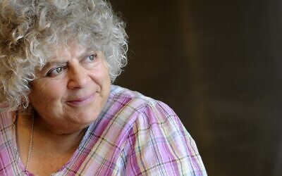 British actor Miriam Margolyes (courtesy)