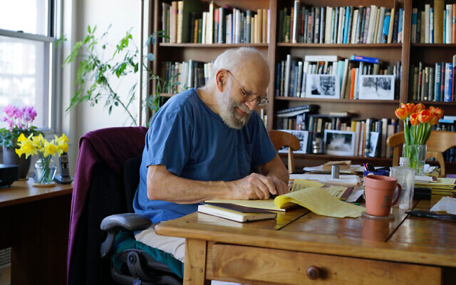 A still of Oliver Sacks from the Ric Burns documentary, 'Oliver Sacks: His Own Life.' (Courtesy)