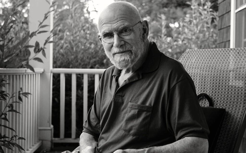 A photo of Oliver Sacks featured in the Ric Burns documentary, 'Oliver Sacks: His Own Life.' (Courtesy)