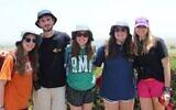 American Jewish teens participating in a trip to Israel organized by BBYO. (Courtesy of BBYO via JTA)