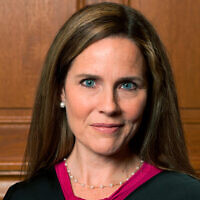 Judge Amy Coney Barrett in Milwaukee, Aug. 24, 2018. (Rachel Malehorn, rachelmalehorn.smugmug.com, via AP)
