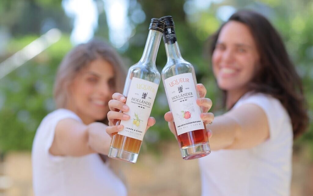 Spirits from the Hollander Distillery, making European-style schnaps and liqueurs from seasonal fruits (Courtesy Hollander Distillery)