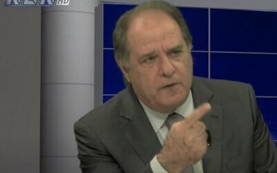 Former Lebanese Minister Sejaan Azzi (