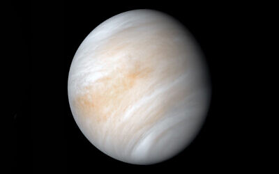 A view of the planet Venus from NASA's Mariner 10 spacecraft in 1974. (NASA)