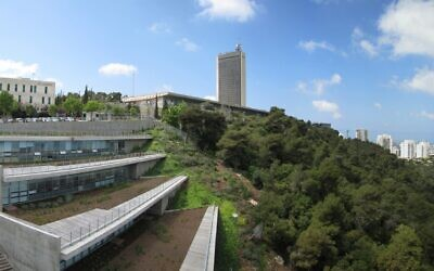 University of Haifa is situated atop Mount Carmel, overlooking Haifa Bay (Photo: Curtesy)