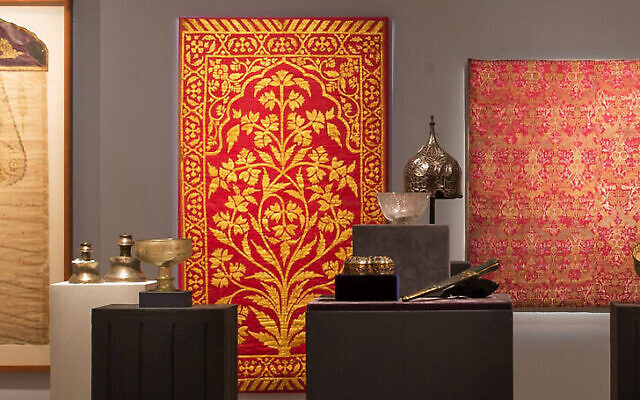 Some 190 objects from the L.A. Mayer Museum of Islamic Art planned to be sold at Sotheby's London on October 27, 2020 (Courtesy Sotheby's)