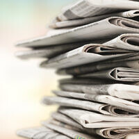 Illustrative: A pile of newspapers (artisteer; iStock by Getty Images)