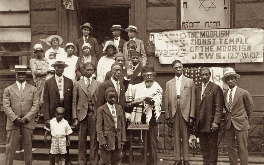 The Moorish Zionist Temple, Harlem, NY, 1929 (James Van Der Zee/The Folklore Research Center, Hebrew University of Jerusalem via the National Library of Israel Digital Collection)