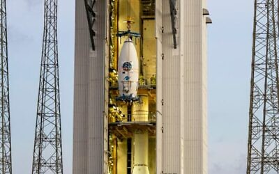 The Vega rocket (SAB Aerospce via ISA)