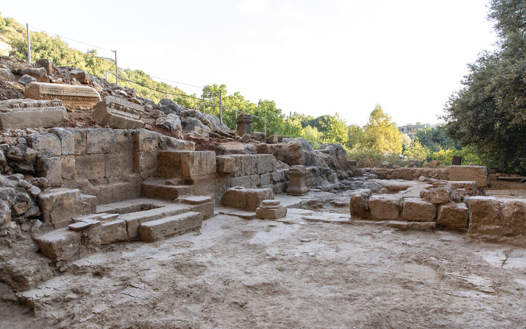 Rare early Christian church built atop temple to Pan found in northern Israel
