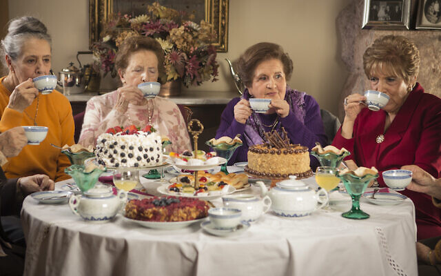 From 'Tea Time,' a 2014 Chilean film about five women and the decades-long friendship around the tea table, being shown on Docustream, the DocAviv online festival happening October 1-31, 2020 (Courtesy Docustream)