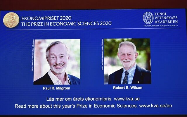 Milgrom, Robert B. Wilson win Nobel Prize 2020 in economics