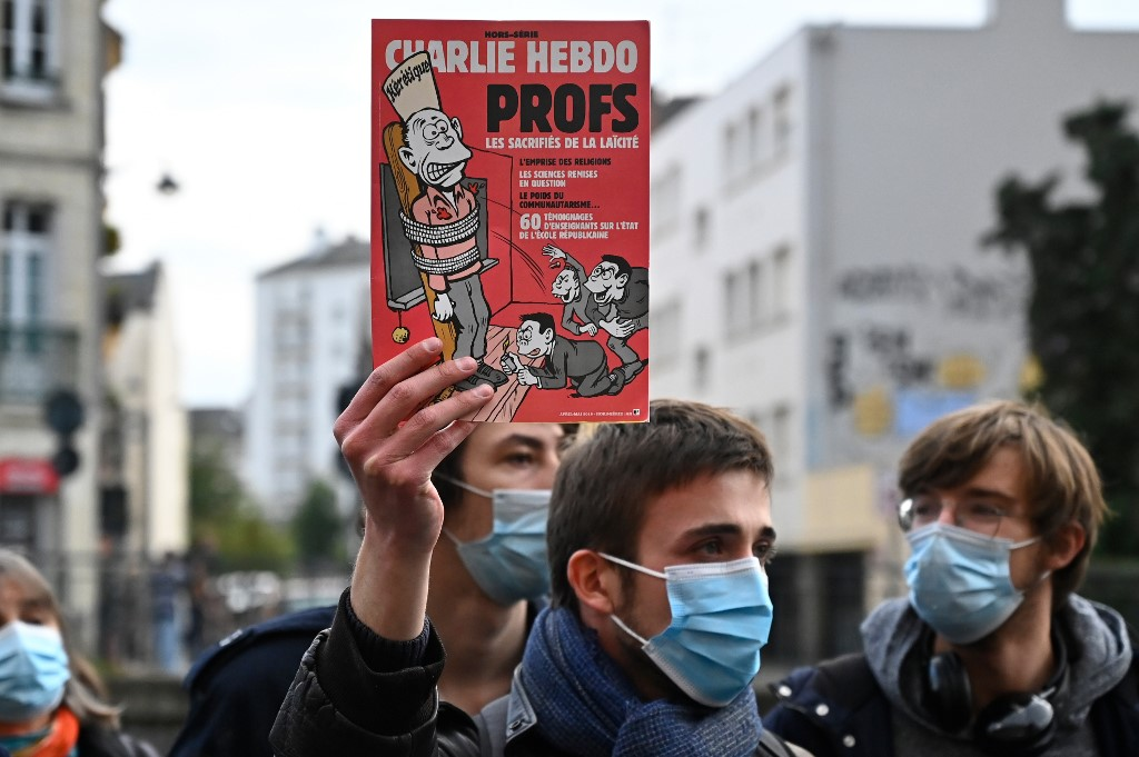 Beheaded French Teacher Was Threatened Online For Showing Mohammed Cartoons The Times Of Israel