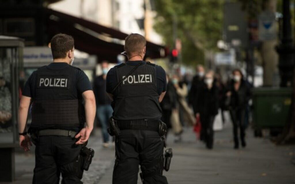 German Court Upholds Expulsion Of Police Cadet Who Used Nazi Terminology The Times Of Israel