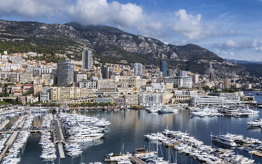 A view of Monaco's Port Hercule in 2017 (John Greim/LightRocket via Getty Images/ via JTA)