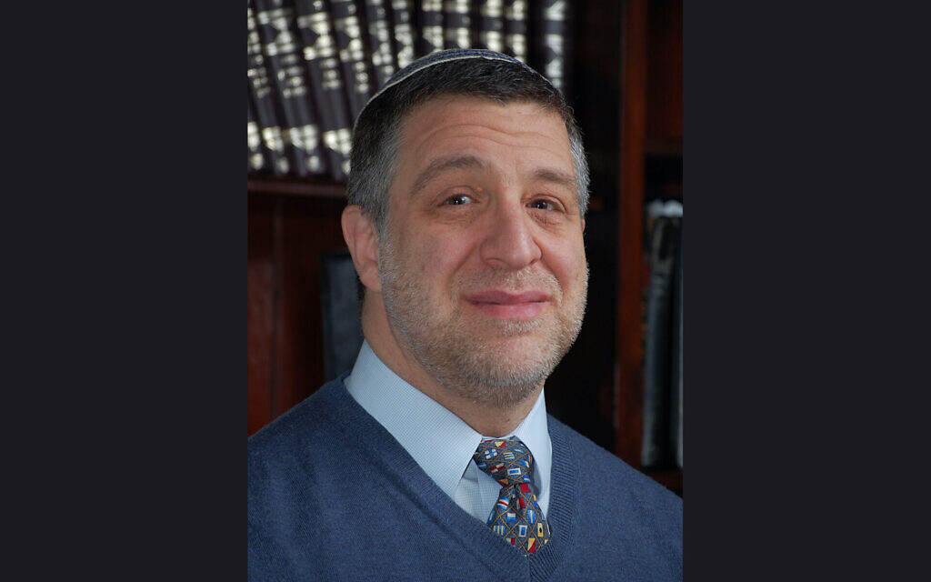 Rabbi Barry Kornblau. (Courtesy via JTA)