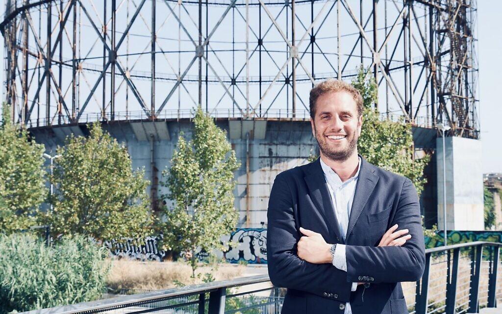 Tobia Zevi wants to give Rome's contemporary reputation a makeover. (Courtesy of Zevi/ via JTA)