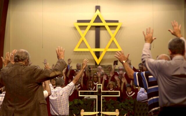 From 'Til Kingdom Come,' a new documentary about the unlikely relationship between Jews and evangelical Christians, premiering on Kan 11 on October 28, 2020 (Courtesy Maya Zinshtein)
