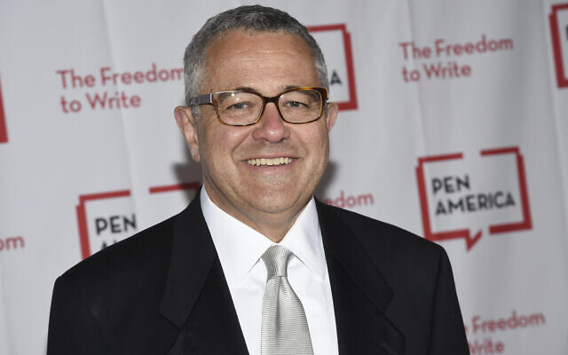 Lawyer and author Jeffrey Toobin attends the 2018 PEN Literary Gala in New York on May 22, 2018 (Evan Agostini/Invision/AP, File)