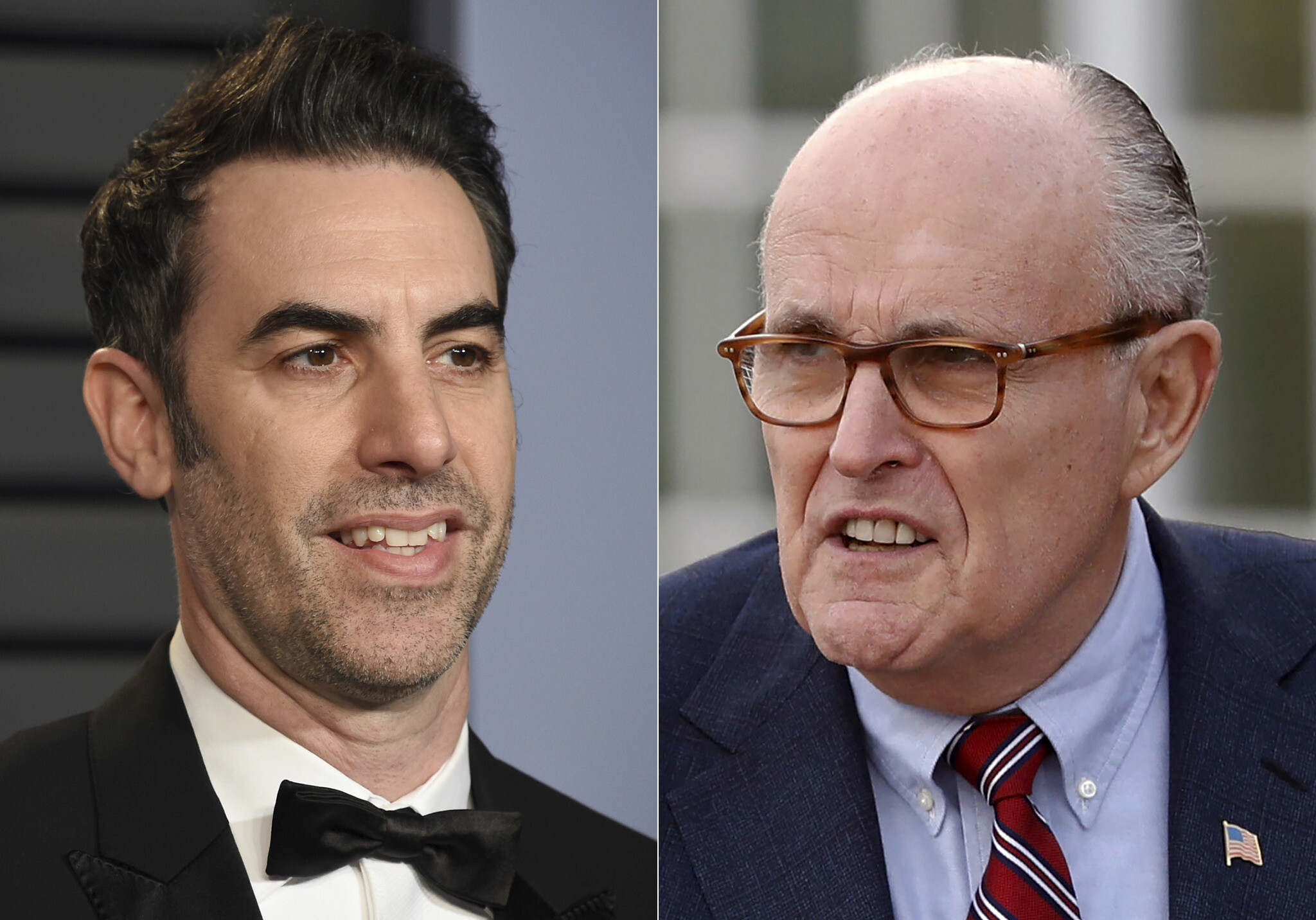 Rudy Giuliani Responds to Compromising 'Borat 2' Scene