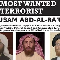 Al-Qaeda propagandist Husam Abd al-Rauf, also known by the nom de guerre Abu Muhsin al-Masri. (FBI via AP)