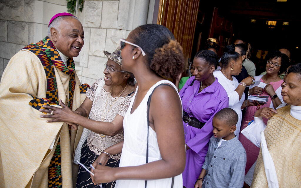Naming new cardinals, Pope Francis appoints first Black US prelate