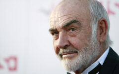Sean Connery arrives at the American Film Institute Life Achievement Award event honoring Al Pacino in Los Angeles on June 7, 2007. (AP Photo/Matt Sayles)