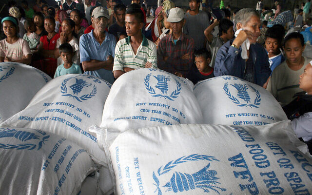 Un S World Food Program Wins Nobel Peace Prize The Times Of Israel