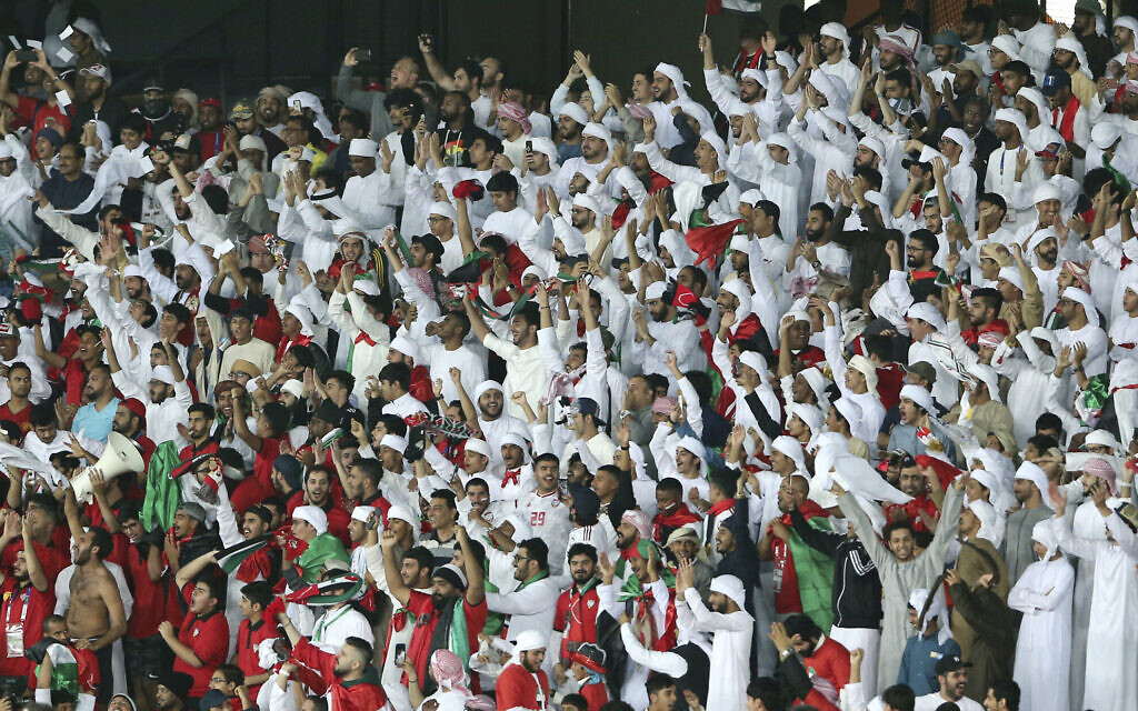 With cooperation as their goal, Israel and UAE soccer leagues ink agreement