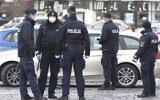 Illustrative photo of police officers in Warsaw, Poland. (AP Photo/Czarek Sokolowski)