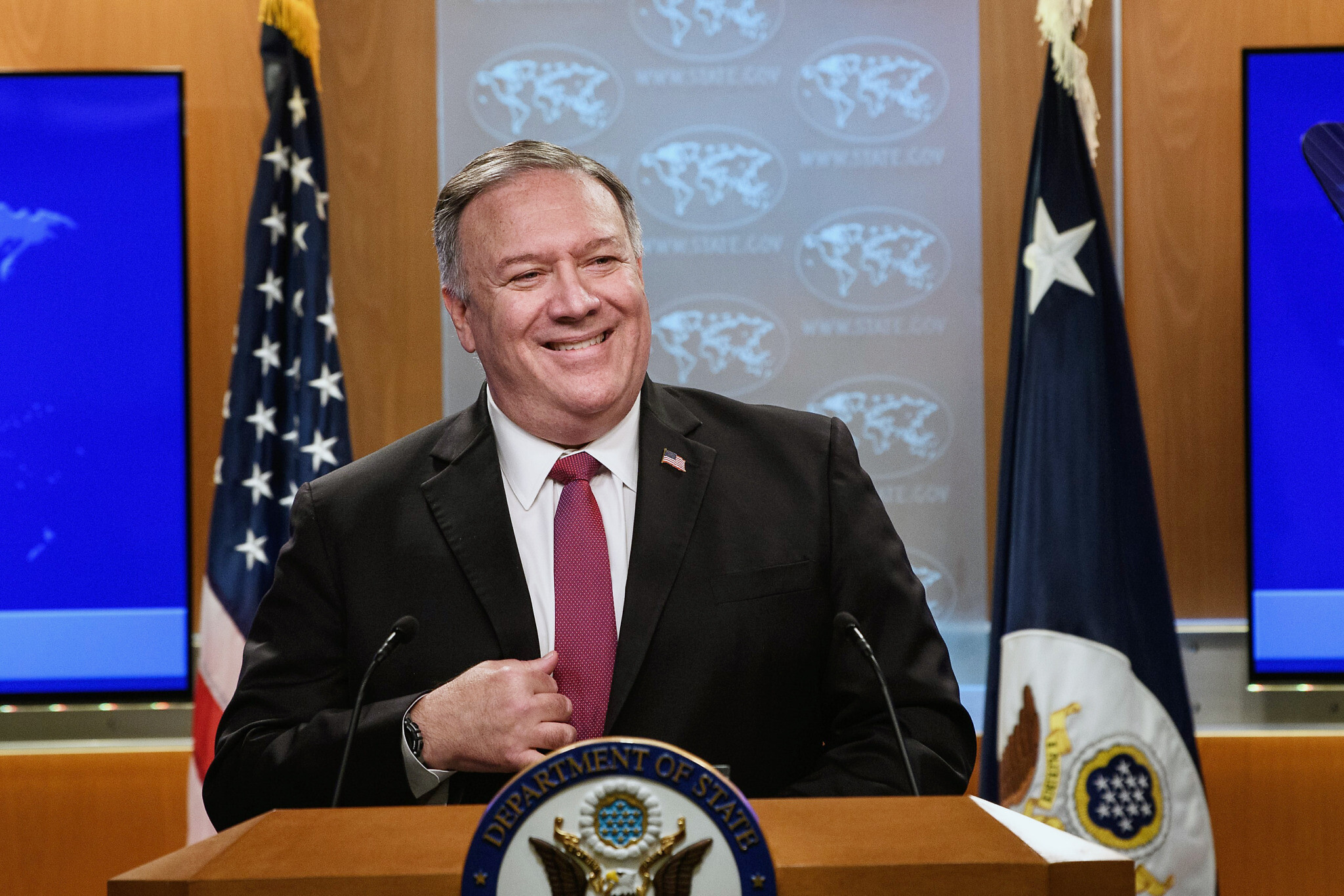 Pompeo heads for Europe, Mideast as Palestinians blast plan to visit settlement   The Times of Israel