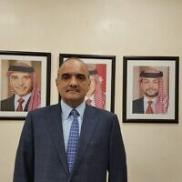 Jordan's new prime minister, Bishr Al-Khasawneh (Wikimedia Commons/CC BY-SA 4.0 via الخصاونة هاني)
