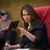 MK Yifat Shasha-Biton. (Miriam Alster/Flash90)
