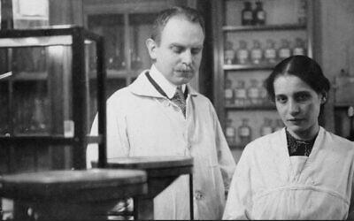 Otto Hahn and Lise Meitner, 1912 (Public Domain via WikimediaCommons)