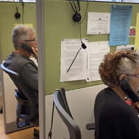 Operators at an ERAN call center (courtesy of ERAN)
