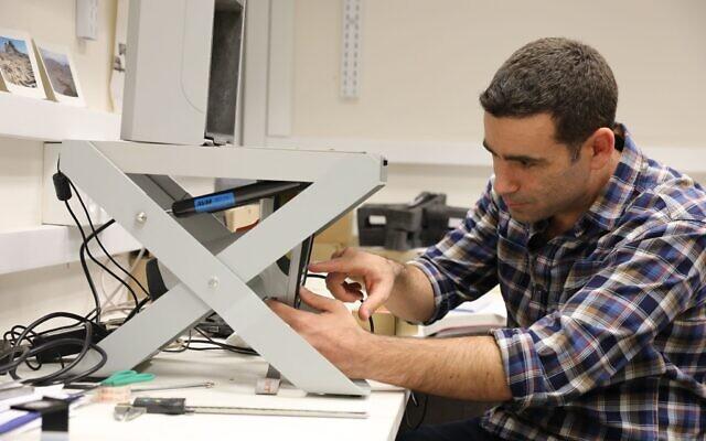 Prof. Erez Ben-Yosef, Tel Aviv University. (Institute of Archaeology, Tel Aviv University)