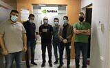 Palestinian engineers employed by Nvidia (Courtesy)