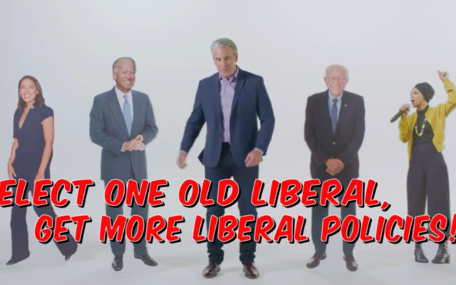A Republican Jewish Coalition ad warning against Joe Biden presidency, released on October 1, 2020. (Screen capture/YouTube)