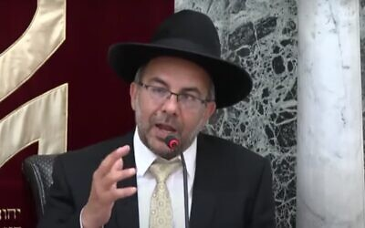 Yaakov Avitan (Screen capture: YouTube)