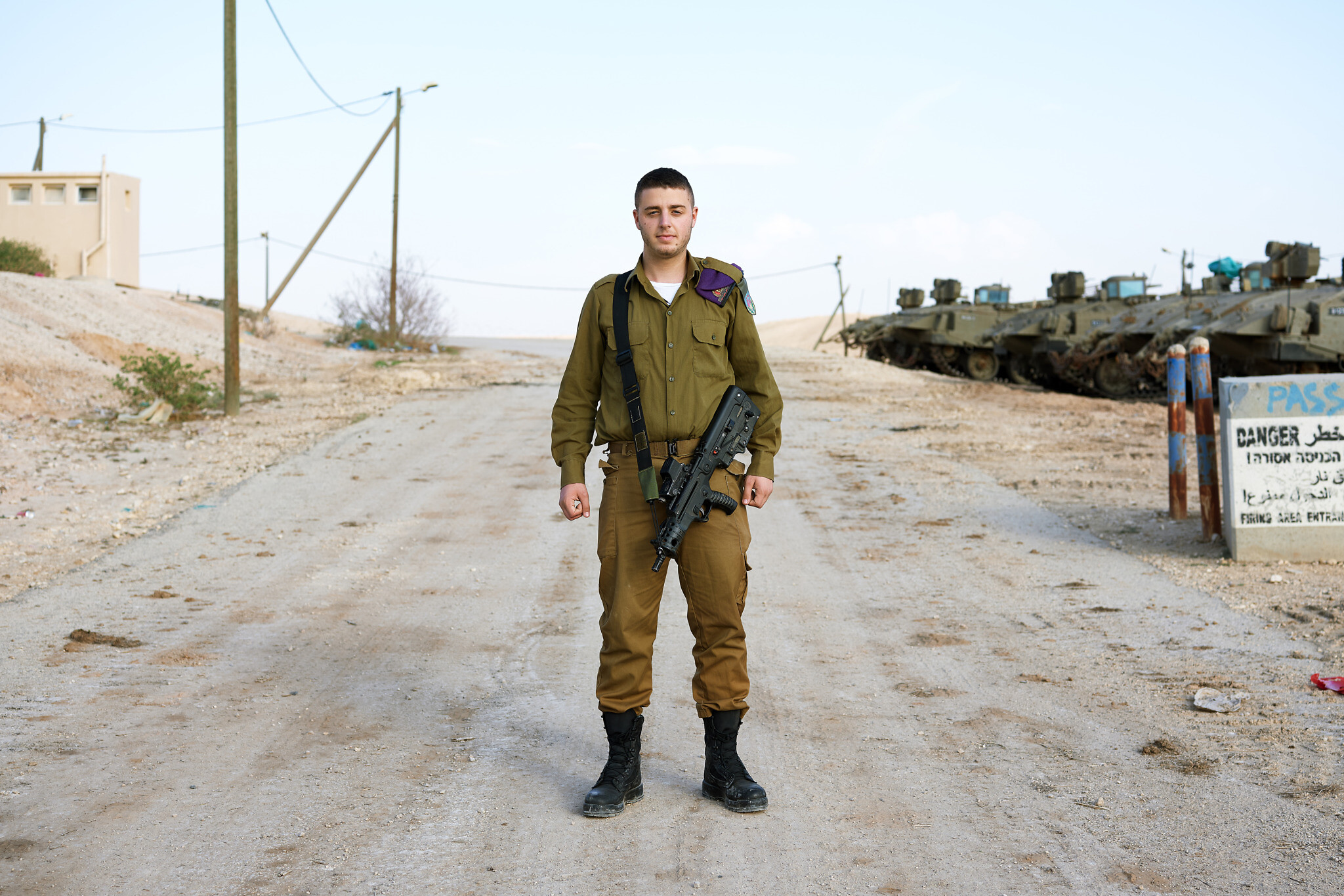 Samuel, 19. Milan, Italy. Infantry' (Brant Slomovic)