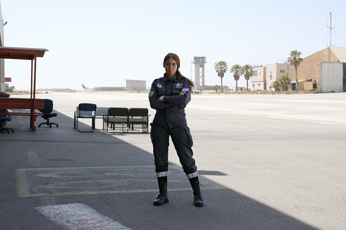 'Hadar, 21. Migdal Ha'Emek, Israel. Air Force Technician' (Brant Slomovic)